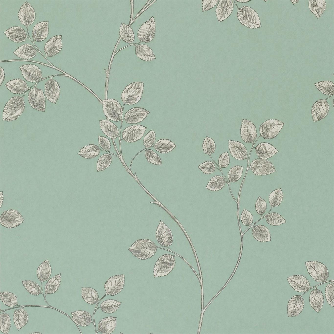 Английские обои Sanderson,  коллекция Parchment Flowers, артикулDPFWFR105