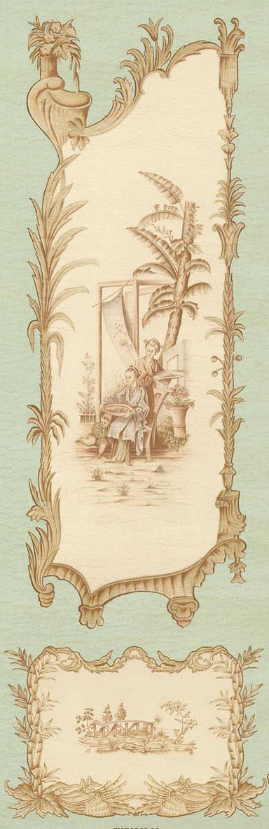 Английские обои Iksel,  коллекция Scenic & Architectural Wallpapers, артикулChinoiserieCHINOIS09