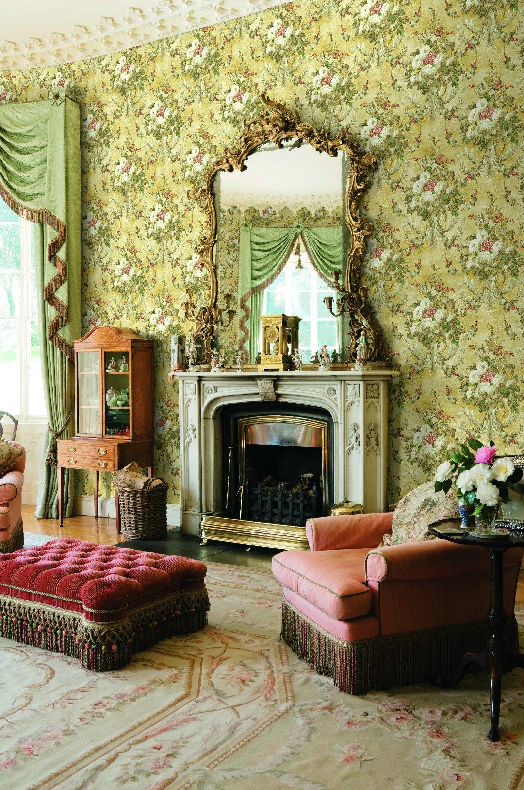 Американские обои Wallquest,  коллекция The Hampton House, артикулSM70303
