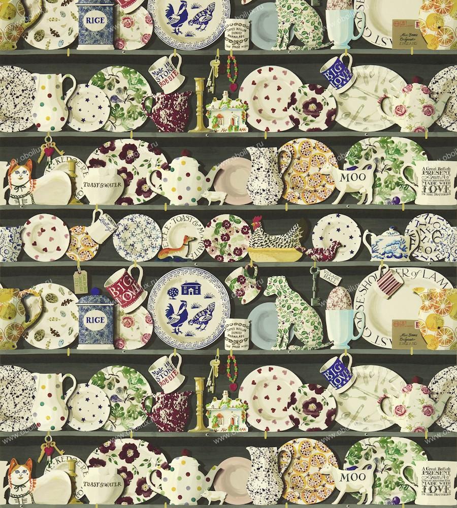 Английские обои Sanderson,  коллекция Emma Bridgewater, артикул213650