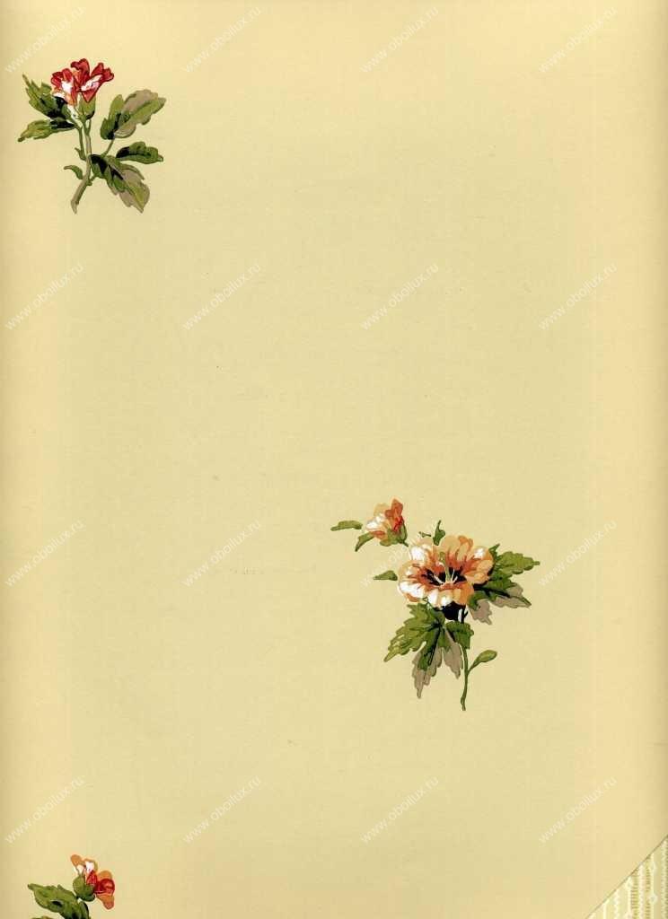 Американские обои York,  коллекция Ashford House - Flowers S.E., артикулWU0725