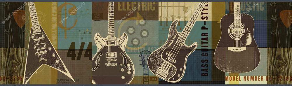 Американские обои Chesapeake,  коллекция Boys Rock, артикулBYR94282B