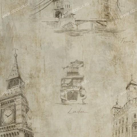 Американские обои Prospero,  коллекция Regents Park, артикулRT-81700