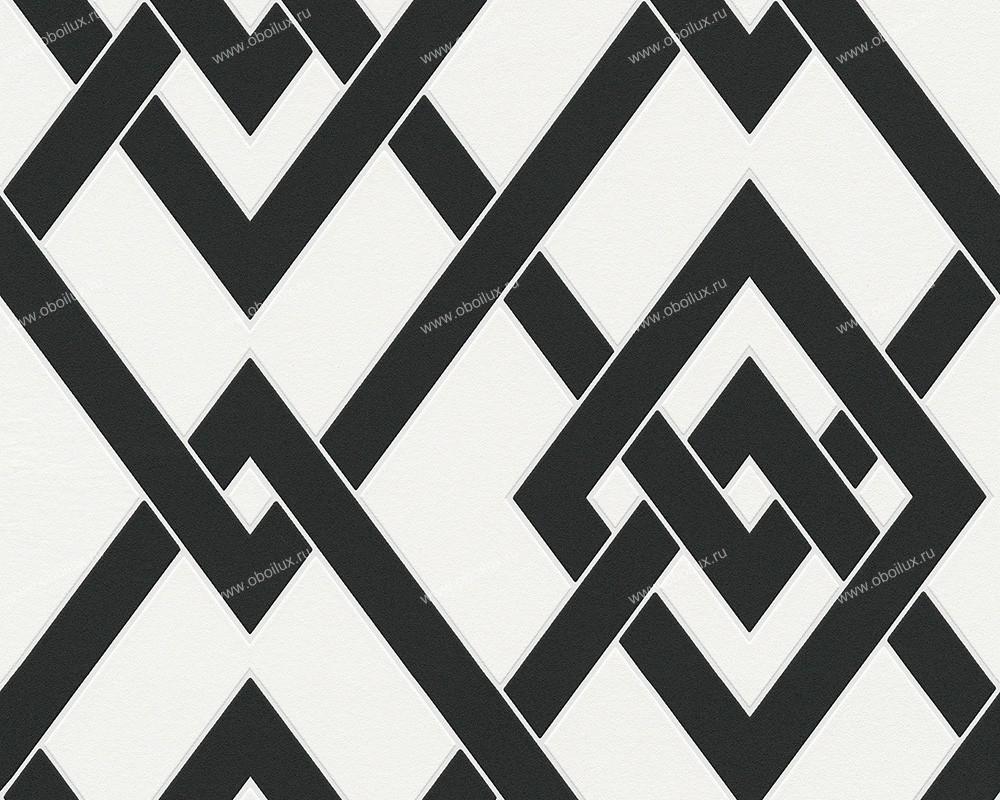 Немецкие обои A. S. Creation,  коллекция Black & White 2, артикул939361