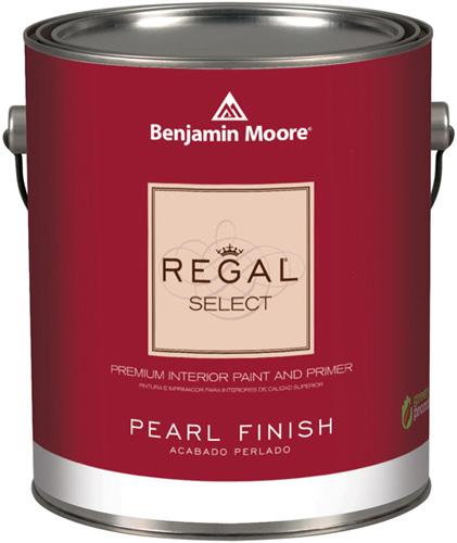 Regal Select 550 Waterborne Interior Paint - Pearl