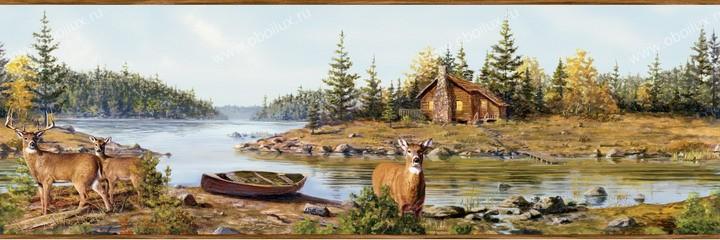 Американские обои Chesapeake,  коллекция Outdoor, артикулHTM48411B