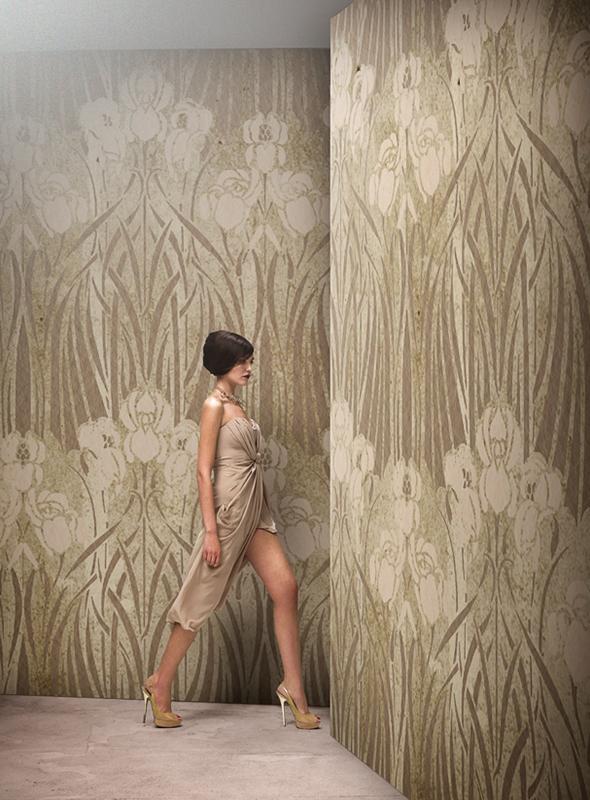 Итальянские обои Wall & deco,  коллекция Gio Pagani 14, артикулGPW1411