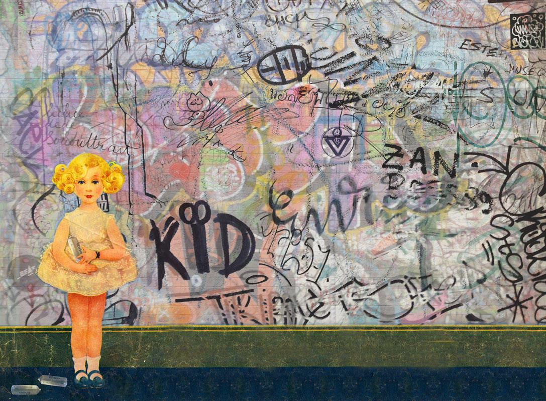 Шведские обои Mr Perswall,  коллекция Street Art, артикулP201801-8