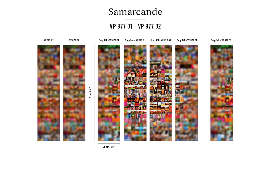 Французские обои Elitis,  коллекция Samarcande, артикулVP87702