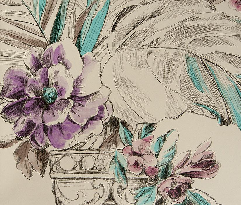 Английские обои Designers guild,  коллекция Zephirine, артикулP547/06