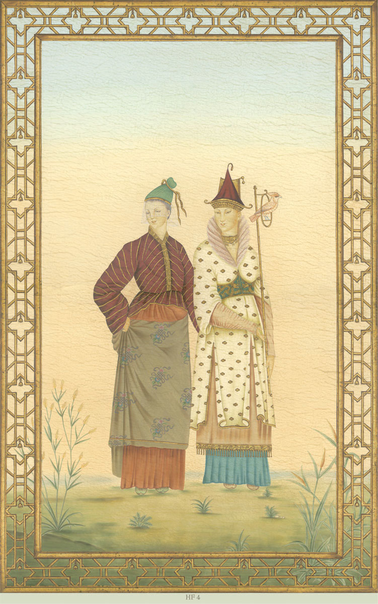 Английские обои Iksel,  коллекция Scenic & Architectural Wallpapers, артикулChineseFantasyHF4