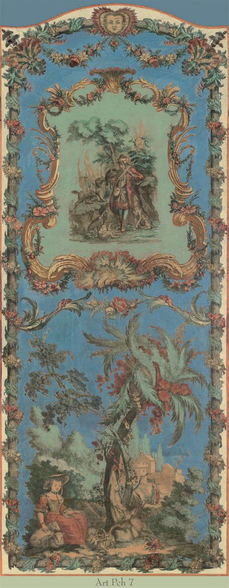 Английские обои Iksel,  коллекция Scenic & Architectural Wallpapers, артикулArtePovereChinoiseresIIARTPCH7