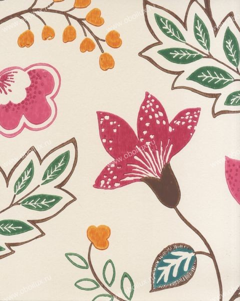 Английские обои Osborne & Little,  коллекция Wallpaper Album V, артикулW5600-05