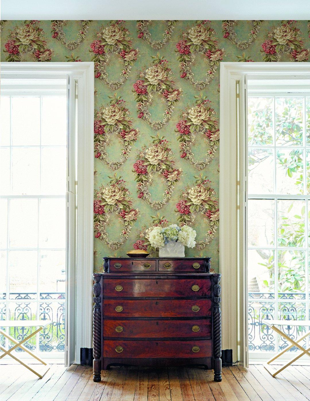 Американские обои Wallquest,  коллекция The Hampton House, артикулSM71501