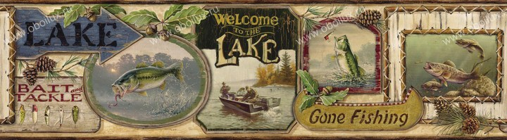Американские обои Chesapeake,  коллекция Outdoor, артикулHTM48441B