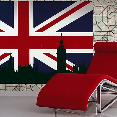 Американские обои Studio 465,  коллекция London, артикулDP51701M