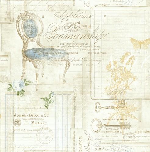 Немецкие обои Architector,  коллекция Cottage Elegance, артикулDL20702