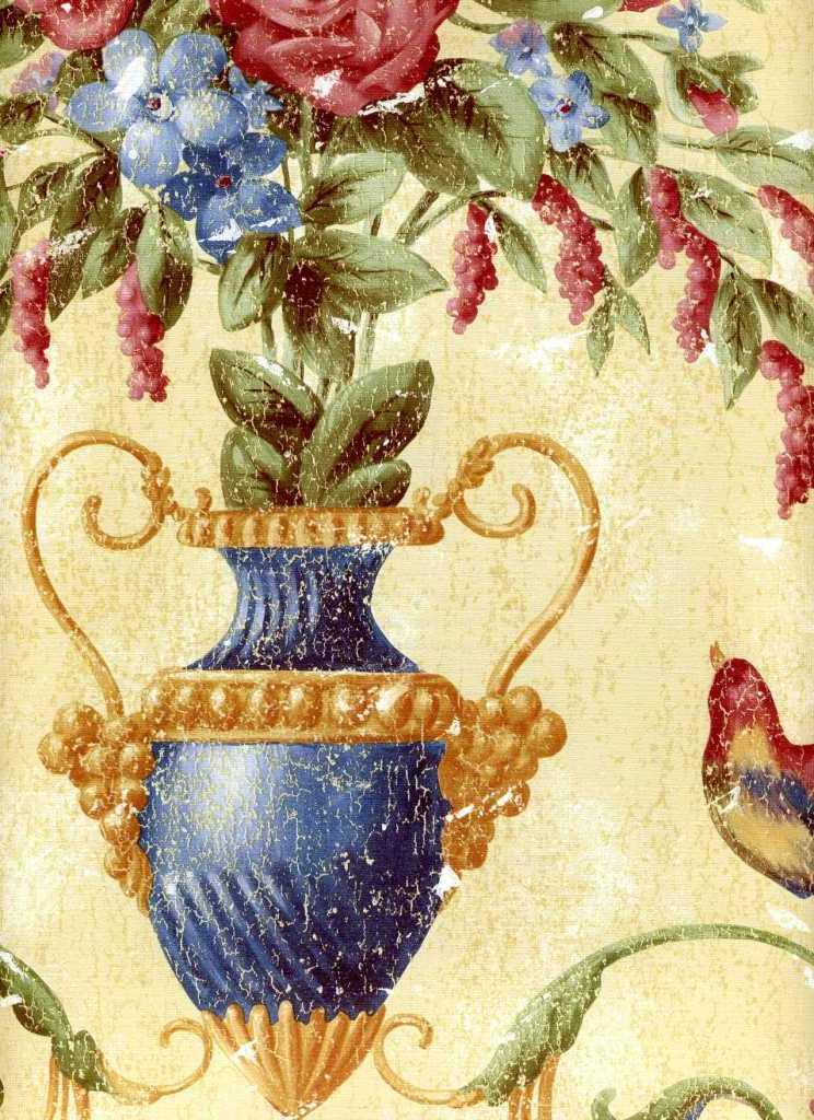 Американские обои York,  коллекция Ashford House - Classics, артикулWU0832
