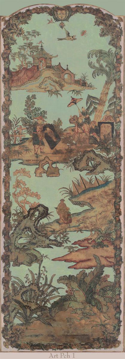 Английские обои Iksel,  коллекция Scenic & Architectural Wallpapers, артикулArtePovereChinoiseresIARTPCH1