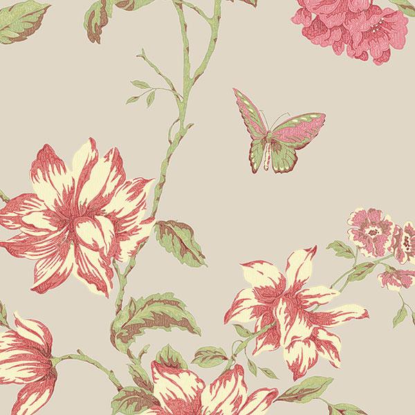 Канадские обои Aura,  коллекция English Florals, артикулG34306