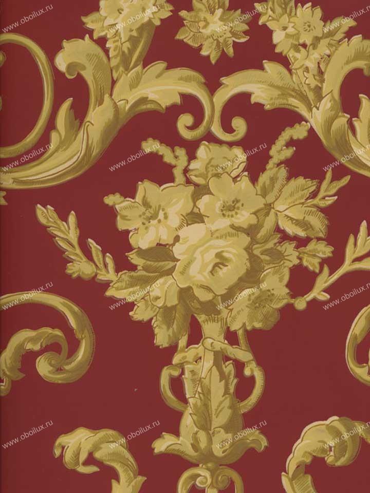 Американские обои Stroheim,  коллекция Color Gallery Crimson, артикул4415E0340