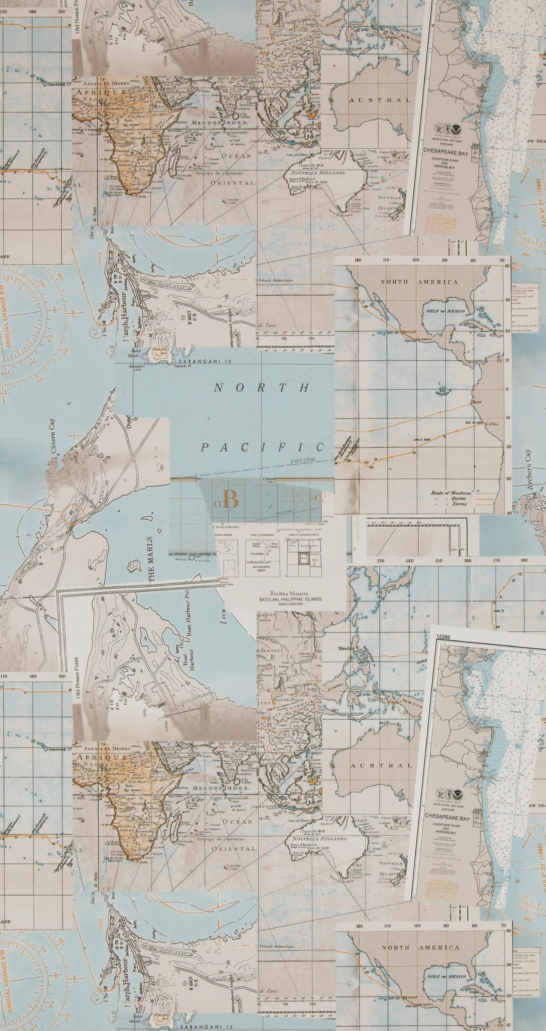 Обои  BN International,  коллекция Riviera Maison, артикул18392