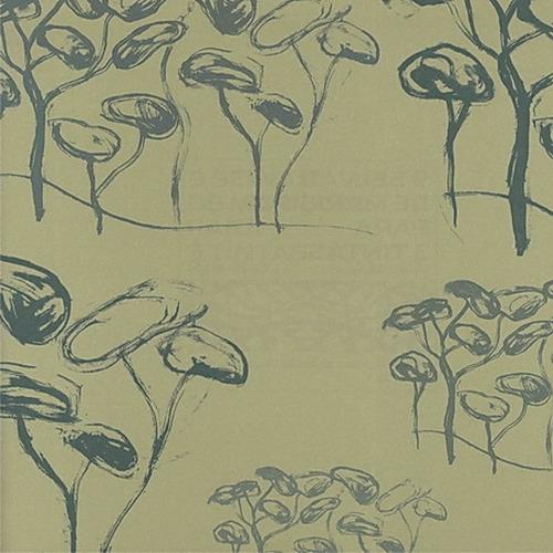 Испанские обои Tres Tintas,  коллекция 9 silvas de Mariscal, артикул1996-5