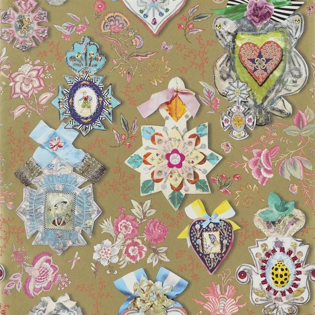 Английские обои Designers guild,  коллекция Christian Lacroix - Incroyables et Merveilleuses, артикулPCL694-04