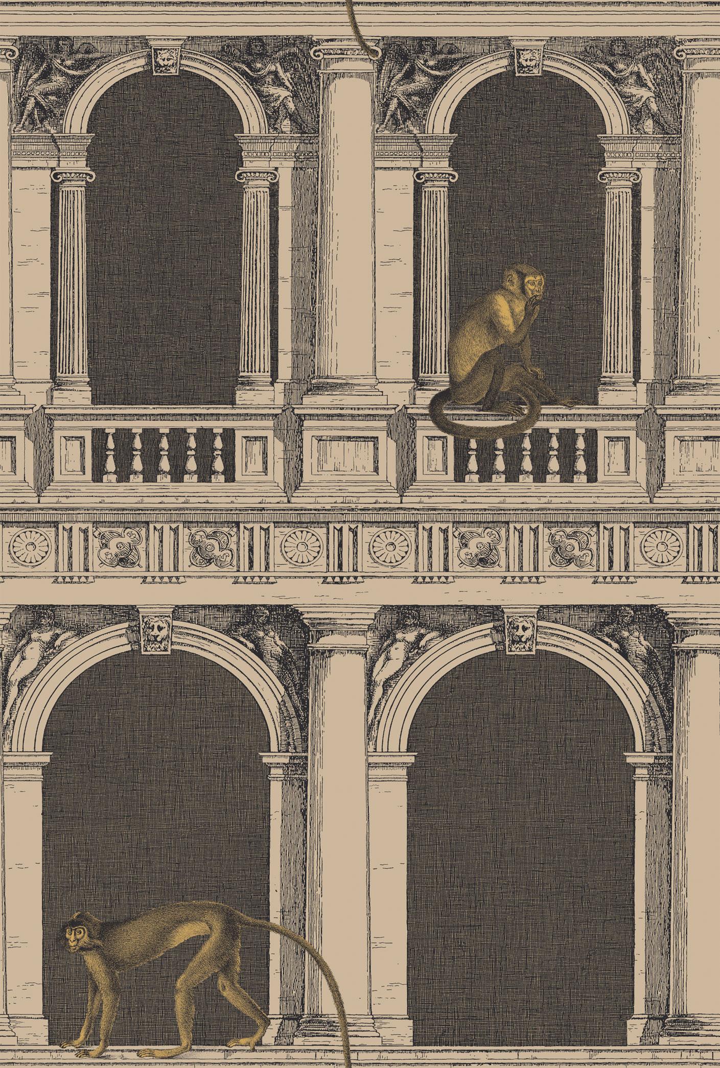 Английские обои Cole & Son,  коллекция Fornasetti II, артикул97/8025