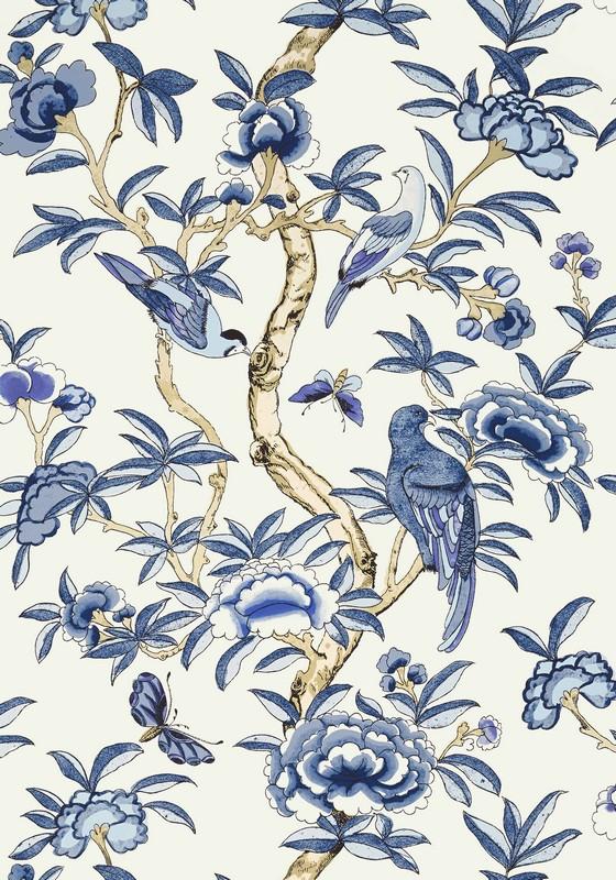 Американские обои Thibaut,  коллекция Imperial Garden, артикулT14224