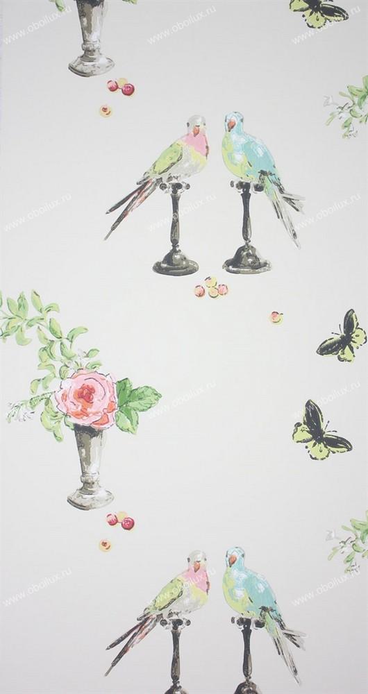 Английские обои Nina Campbell,  коллекция Wallpaper Album III, артикулNCW3830-02
