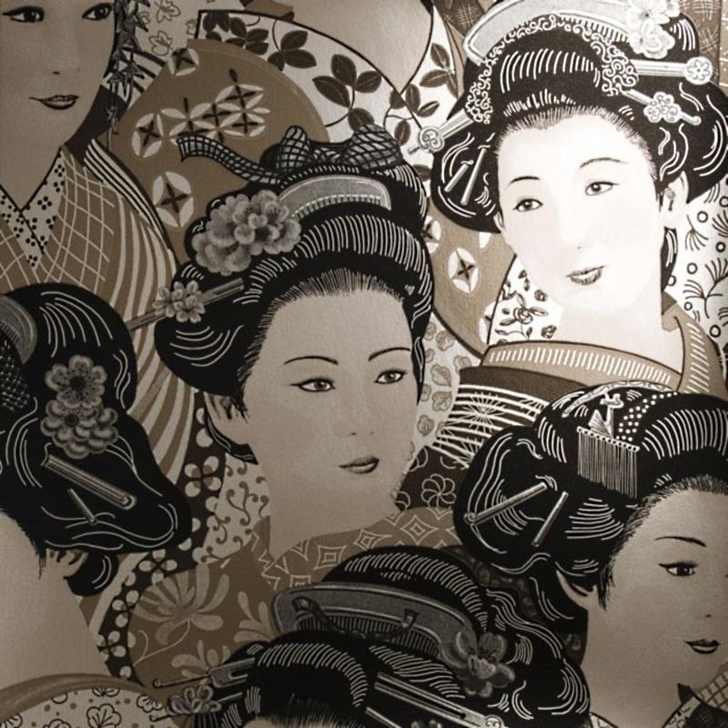 Бельгийские обои Hookedonwalls,  коллекция Kimono Club, артикул97041