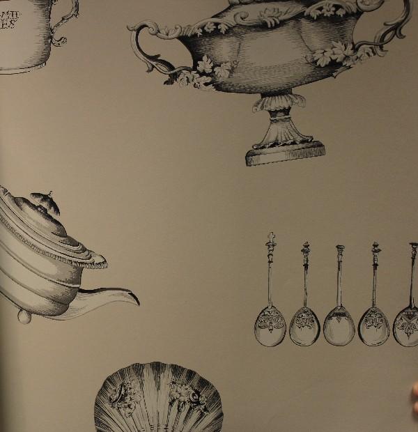 Английские обои Mulberry Home,  коллекция Imperial Wallpaper, артикулFG058A117