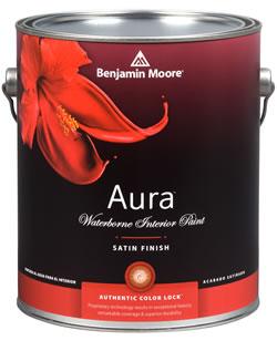 Aura 631 Waterborne Exterior Paint - Satin Finish