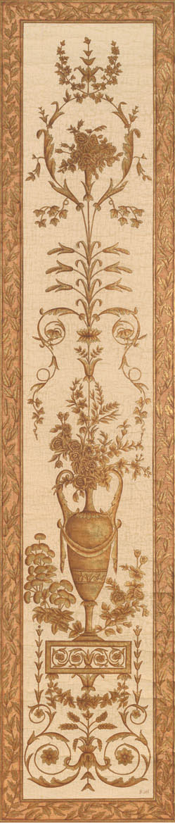 Английские обои Iksel,  коллекция Scenic & Architectural Wallpapers, артикулLouisXVIArabesqueL16S