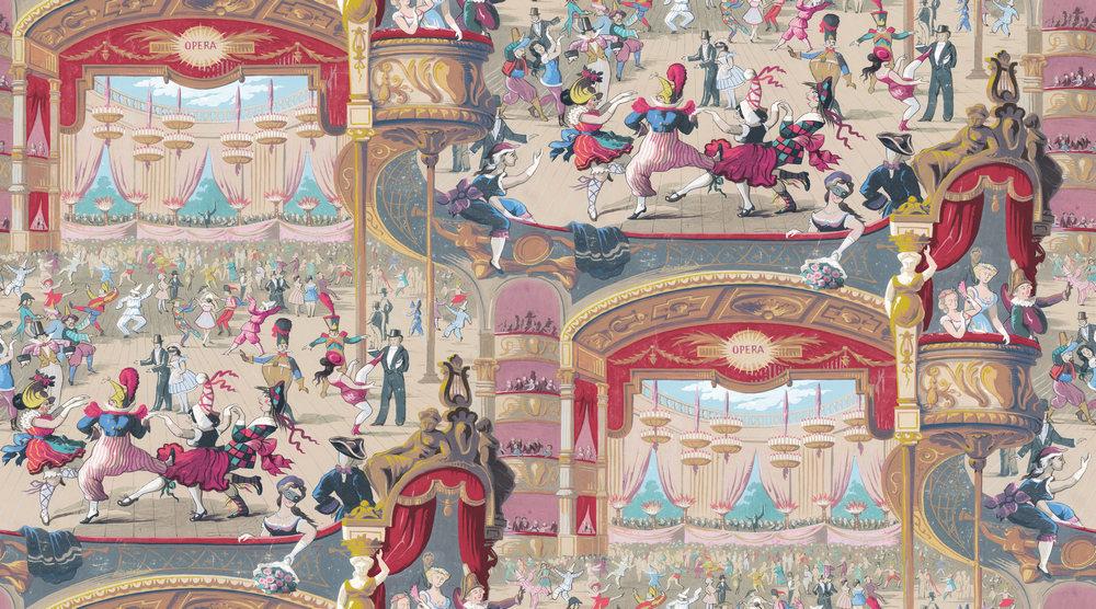 Английские обои Cole & Son,  коллекция Whimsical, артикул103/7026