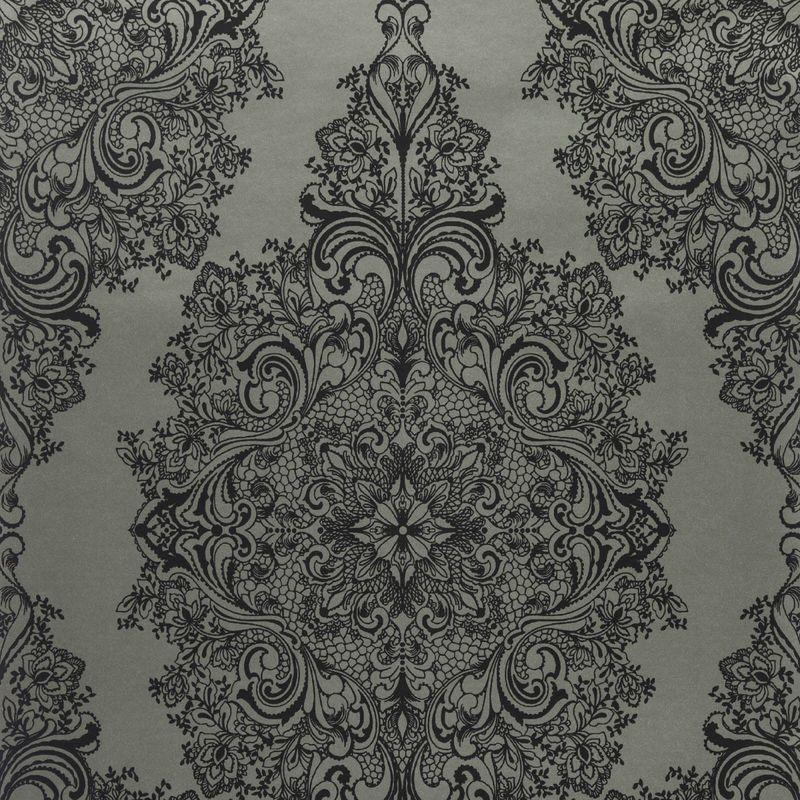 Бельгийские обои Covers,  коллекция Diamond, артикулTopoli38-Carbon