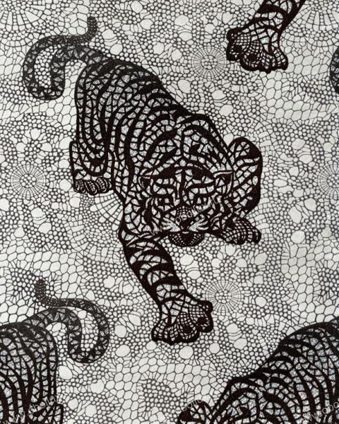Английские обои Osborne & Little,  коллекция Matthew Williamson - Eden Wallpapers, артикулW6542-02