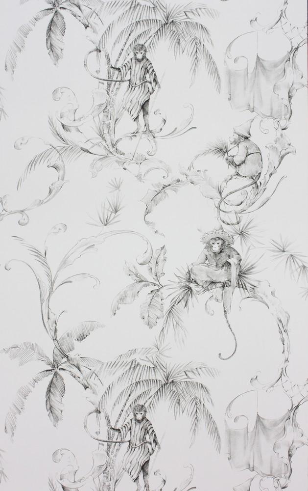 Английские обои Nina Campbell,  коллекция Fontibre Wallpaper, артикулNCW4205-05