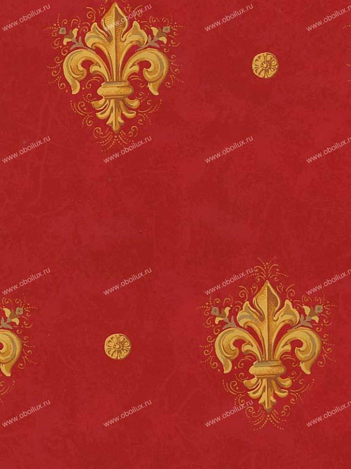Американские обои Stroheim,  коллекция Color Gallery Crimson, артикул8819E0350