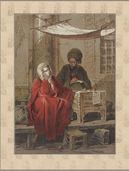 Английские обои Iksel,  коллекция Scenic & Architectural Wallpapers, артикулPreziosi'sConstantinoplePREZ7