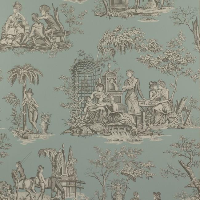 Французские обои Manuel Canovas,  коллекция Bellegarde, артикул03063-02