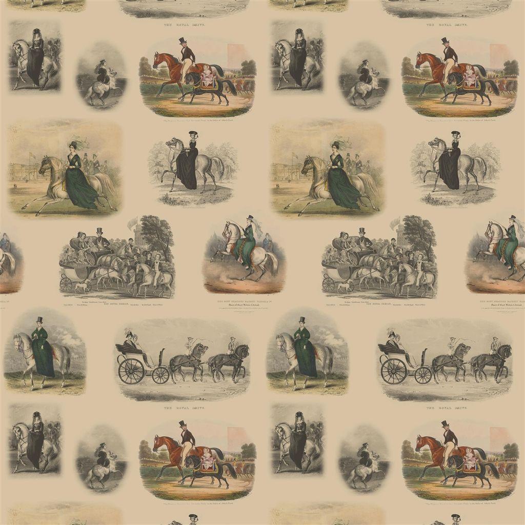 Английские обои Designers guild,  коллекция The Royal Collection - Buckingham Wallpapers, артикулPRC670/01