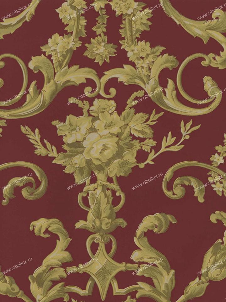 Американские обои Stroheim,  коллекция Color Gallery Cinnabar and Saffron, артикул4415E0340