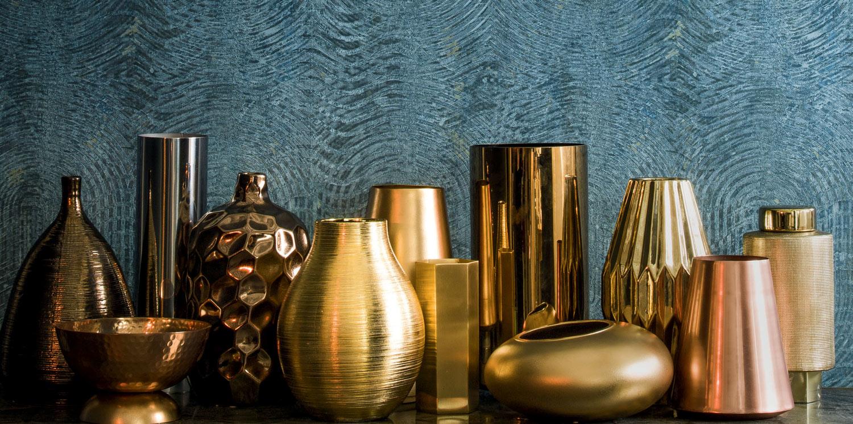 Французские обои Casamance,  коллекция Copper, артикул73480679