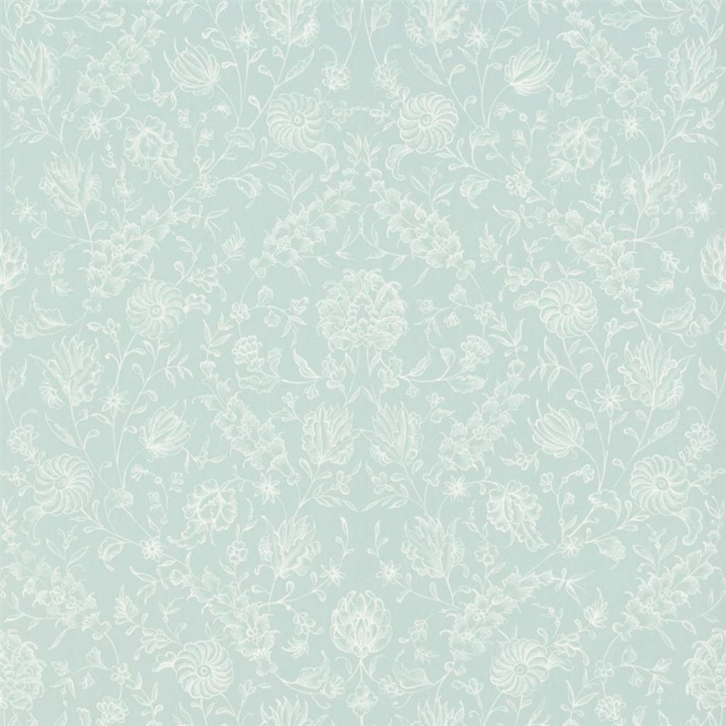 Английские обои Designers guild,  коллекция The Royal Collection - Rosa Chinensis, артикулPQ009/07