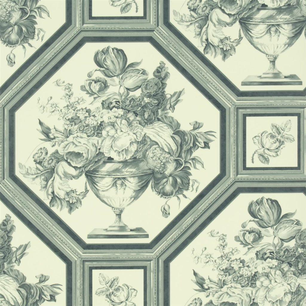 Английские обои Designers guild,  коллекция The Royal Collection - Rosa Chinensis, артикулPQ010/03