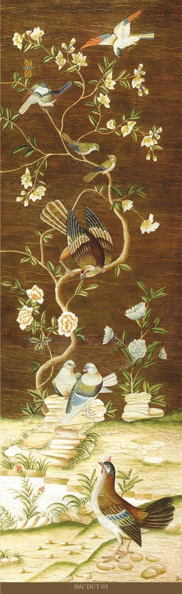 Английские обои Iksel,  коллекция Scenic & Architectural Wallpapers, артикулDutchTreeOfLefeBSCDUT03