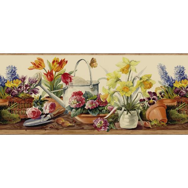 Американские обои Chesapeake,  коллекция Kitchen Bed & Bath Vol I, артикулCKB77922B