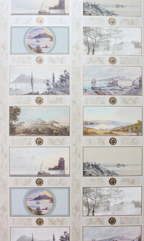Английские обои Nina Campbell,  коллекция Fontibre Wallpaper, артикулNCW4200-01
